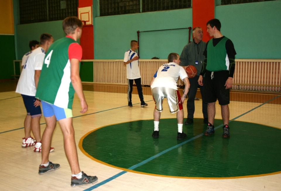 Баскетбольный матч КГАТК