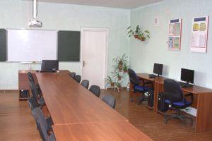 Лаборатория с мультимедийным оборудованием