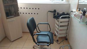Место приема парикмахерская