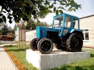 Экспозиция сельскохозяйственной техники