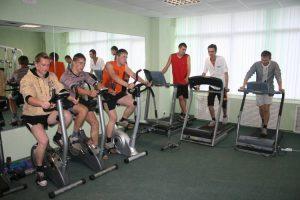 Фитнес зал КГАТК